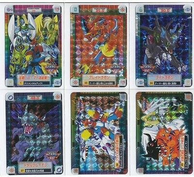 Digimon Card Carddass Digimon Adventure 2 Complete Set Japan