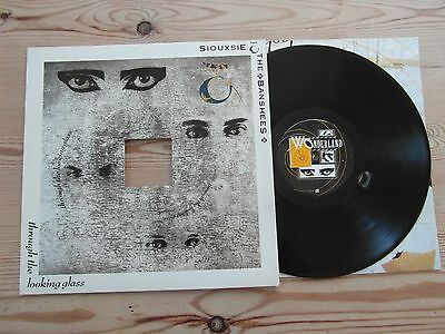 SIOUXSIE AND THE BANSHEES - THROUGH THE LOOKING GLASS-1st UK PRESS-EX+ LP1987