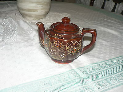 Lovely Vintage Pottery Teapot 2 Cups Made In Japan