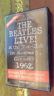 the beatles live at the star-club hamburg 1962 lingasong cassette tape