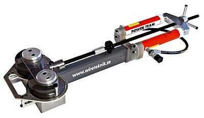 WIRETEKNIK Swaging Machine A350 2.5-16 mm without Hand Pump and Roller Pairs