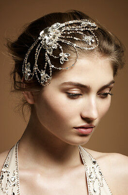 Beautiful designer Jenny Packham bridal Poppy II  headdress