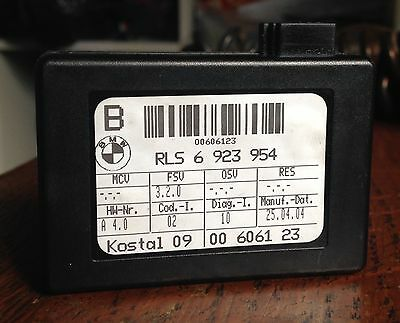 BMW E46 330i Msport light and rain sensor 00606123, 6923954