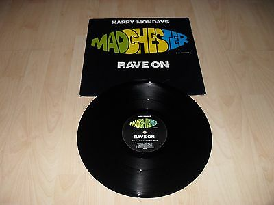 "Happy Mondays - Madchester - Rave On (Uk 1989 12"" Vinyl Single) Factory Fac242"