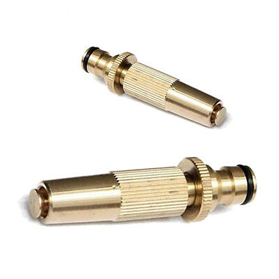 Solid Brass Copper Hose End Jet Nozzle High Pressure Water Spray Gun Metal Head