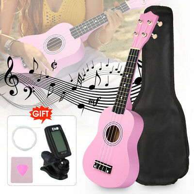21 Inch Economic Soprano Ukulele Start Pack, Student Outfit with Gig bag, Tuner
