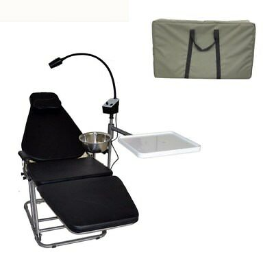 Dental Portable Folding Chair Surgical Medical with Nylon Bag Lab Equipment