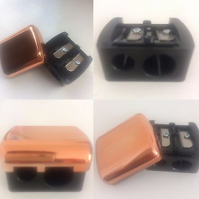 Duo Cosmetic Pencil Sharpner with Shiny Cover