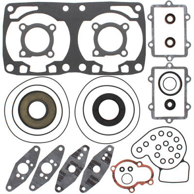 Winderosa Complete Gasket Kit with Oil Seals For Arctic Cat F8 2007 - 2009 800cc