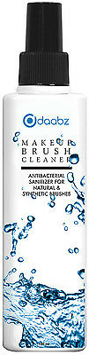 Makeup Brush Cleaner Liquid Cleansing Anti Bacterial Disinfectant Spray 100ml