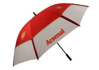 *official* Premier Licensing  Arsenal Fc Twin Canopy Windproof Umbrella