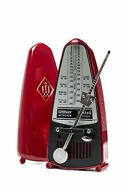 Wittner Taktell Piccolo Metronome - Ruby Red