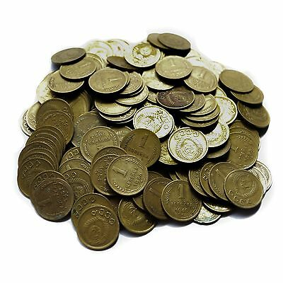 50 Pieces 1 Kopeck Coins Soviet Union 1924-1961 Communism USSR CCCP