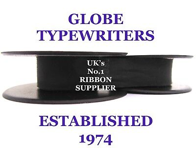 'remington Noiseless 7' *purple* Typewriter Ribbon* Manual Rewind + Instructions