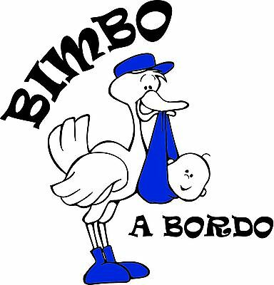 Adesivi bimbo a bordo stickers auto