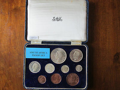 =Lustrous= British South Africa Short Proof Set - 1952 - 300Th Anniversary