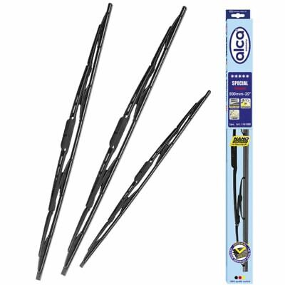 Ford Fiesta 2002-2008 wiper blades FRONT & REAR full set 3 pcs alca SPECIAL
