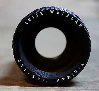 Leitz Leica V-ELMAR 4.5 100 Photographic Darkroom Developing Enlarging Lens