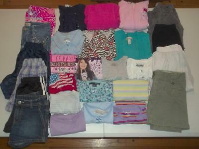 27pc Girls size 7 Spring Summer lot Old Navy Gap Children's Place dress clothes