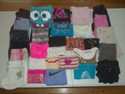 29pc Girls size 7 Spring Summer lot Nike Justice Children's Place dress clothes