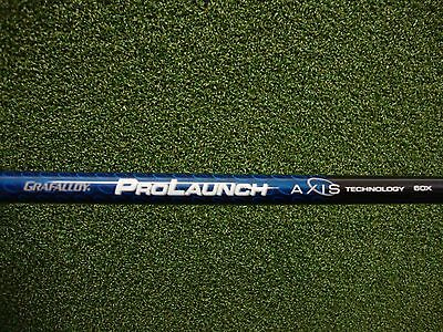 NEW Grafalloy Prolaunch Axis Blue Extra Stiff Graphite Driver Shaft