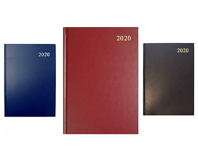 2020 Diary A4 & A5 Page A Day / Week To View / Appointment Hard Back Desk Year