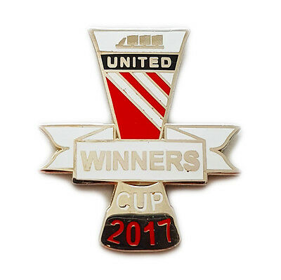 United CUP WINNERS 2017 Badge Selection Manchester v Ajax Euro League Final Pin