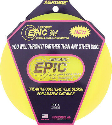 Aerobie Frisbee Epic Golf Disc 166 - 169 g extreme wide shot assorted color