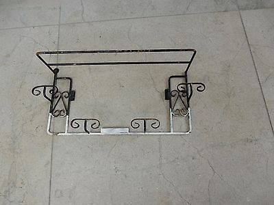 Late Art Deco -    1950S Style Coat Hook Rack   To Restore