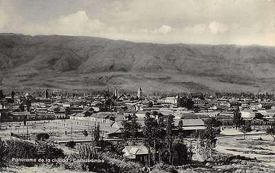Cochabamba Bolivia Birds Eye View Antique Postcard J67071