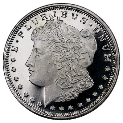 Highland Mint Morgan Dollar Design 1/2 oz. Silver Round Made U.S.A SKU26819