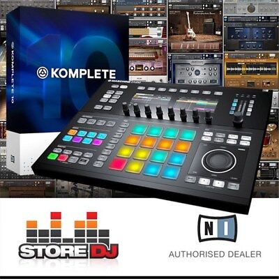 Native Instruments Maschine Studio w/ Komplete 11 Upgrade (Black)