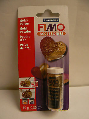 FIMO .  POUDRE D'OR  10 Grs