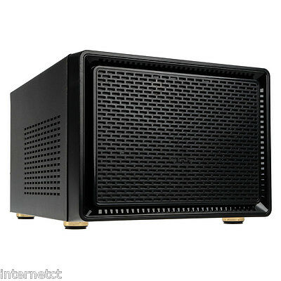 KOLINK SATELLITE MICRO ATX CUBE USB 3.0 BLACK PC CASE mATX MINI ITX COMPATIBLE