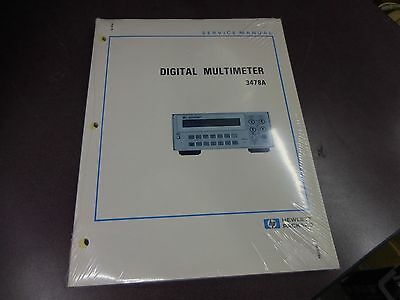 Hp Digital Multimeter 3478A Instruction Manual 3110A-3