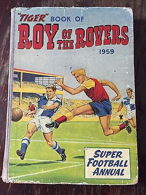 Tiger Roy of the Rovers Annual 1959