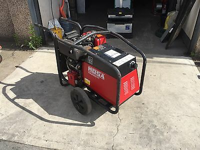 Mosa TS200 Diesel welder generator set 100/190A with 110v and 240v