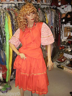 Lot Of 7 Ladies Square Dancing Outfits Country Western- Costume- Excellent Cond.