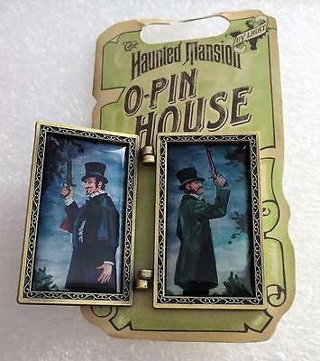 Disney The Haunted Mansion O'Pin House Duel Personalities Duellers Hinged Pin