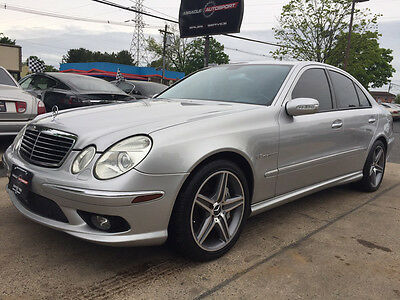 2005 Mercedes-Benz E-Class Base Sedan 4-Door E55 low mile free shipping clean carfax cheap project supercharged exotic fast