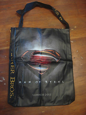 Comic Con 2012 Superman Large Bag Beach Man of Steel Warner Brothers
