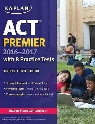 Kaplan test prep and admissions sat purple book of practice sats act premier 2017 by kaplan test prep and admissions staff fandeluxe Choice Image