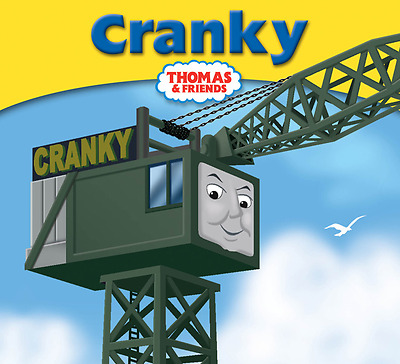 Thomas The Tank Engine And Friends Book. Cranky. No 7.