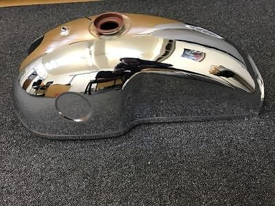New Benelli Mojave Cafe Racer 260 360 Chrome Plated Petrol Fuel Gas Tank
