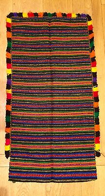 Handwoven apron from Croatia, 19th century