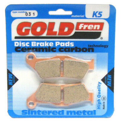 Front Disc Brake Pads for Ducati Monster 800 S2R 2005 802cc By GOLDfren