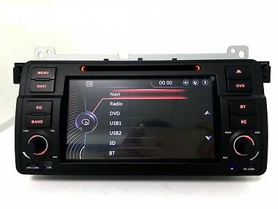 Autoradio GPS/DVD/BT/USB/SD Card pour BMW SERIE E46  + CAMERA de recul