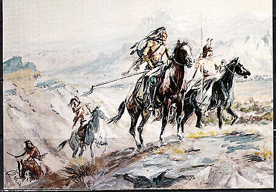 Charles Marion Russell, Western Artist, 3 Cards,
