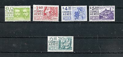MEXICO--Short Set of 5 Airmail Stamps Scott #C445/#C450