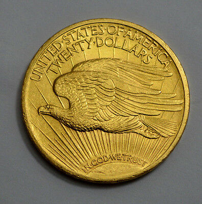 SUPERB 1922-P $20 GOLD ST. GAUDENS DOUBLE EAGLE  US COIN w/ MOTTO